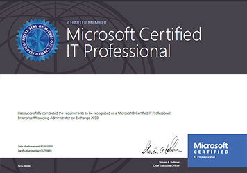 Microsoft Technical Certification Mcp Welkin Systems